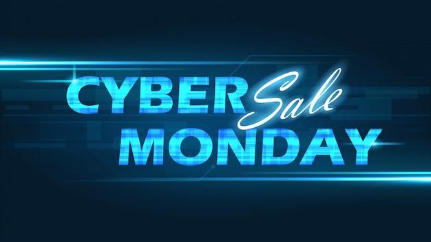 Fondo de lunes cibernético