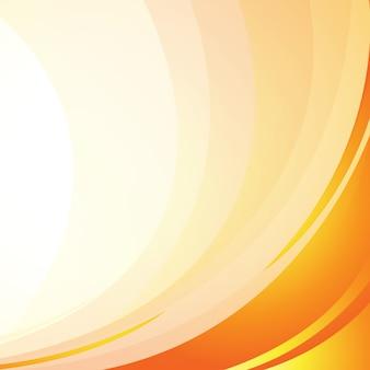 Fondo de luz amarilla de la onda