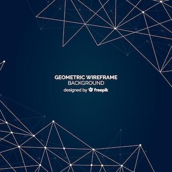 Fondo mallado geométrico