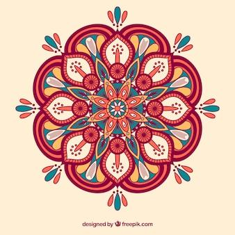 Fondo mandala colorido