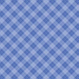 Fondo de mantel de cuadros azul