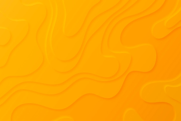 Fondo de mapa topográfico con capas naranjas