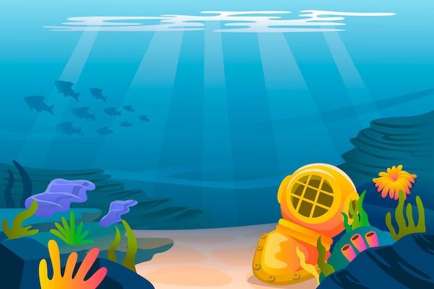 Bajo el fondo del mar