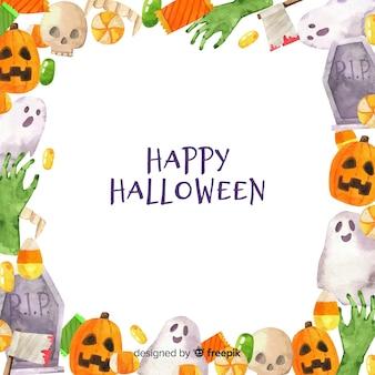 Fondo de marco para halloween