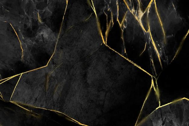 Fondo de mármol creativo con detalles dorados.