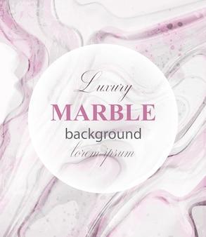 Fondo de mármol rosa de lujo