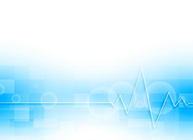 Fondo médico azul