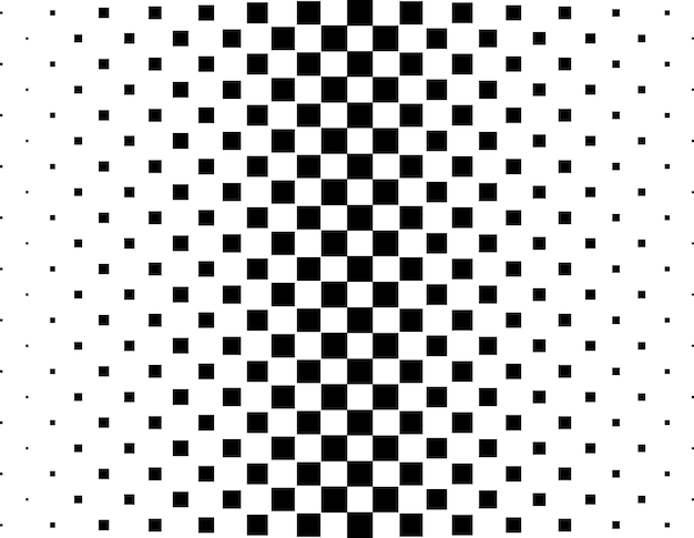 Un fondo de medios tonos blanco y negro abstracto
