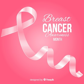 Fondo mes del cáncer de mama