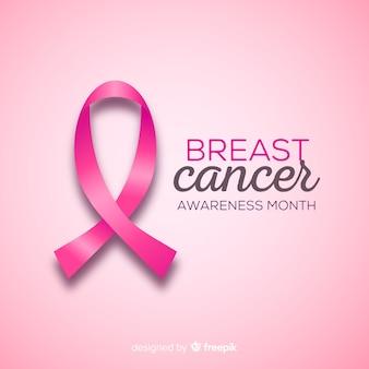 Fondo del mes del cáncer de mama
