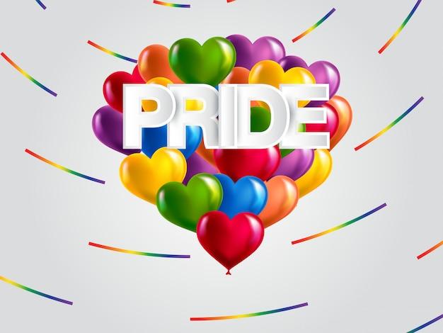 Fondo del mes del orgullo