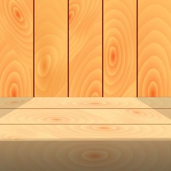 Fondo de mesa de madera