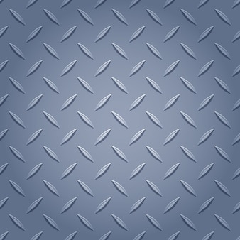 Fondo de metal diamante - color gris.