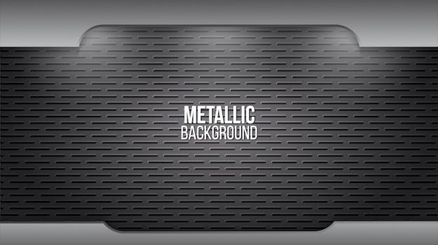 Fondo de metal con textura de aluminio