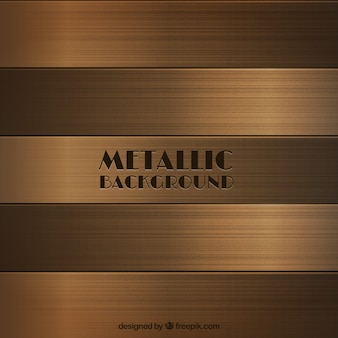 Fondo metálico de bronce
