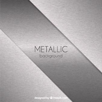 Fondo metálico con formas abstractas