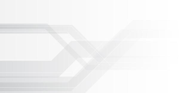 Fondo minimalista abstracto gris plata degradado