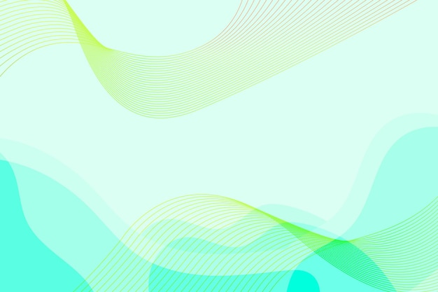 Fondo minimalista orgánico de flúor