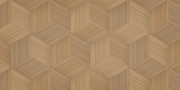 Fondo del modelo de la cestería de bambú.