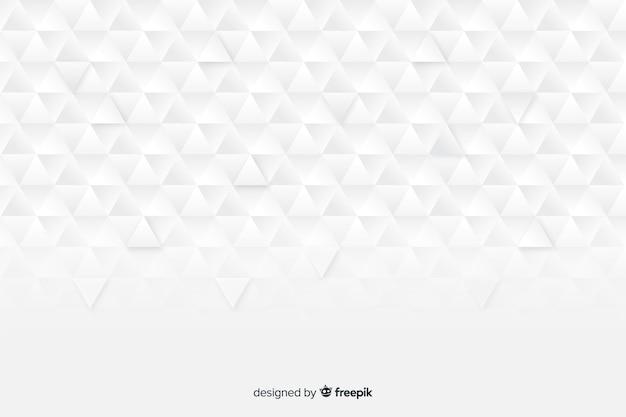 Fondo de modelos geométricos en papel