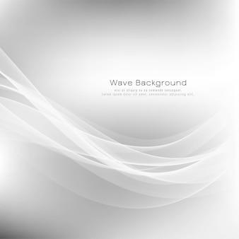 Fondo moderno abstracto de la onda gris