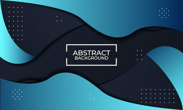 Fondo moderno abstracto de textura negro y azul