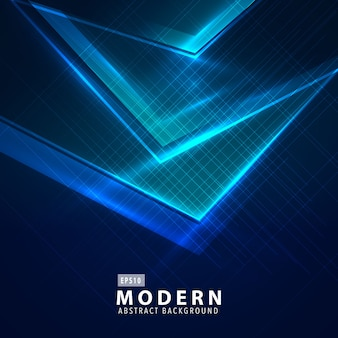 Fondo moderno abstracto