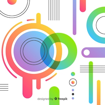 Fondo moderno en diseño abstracto