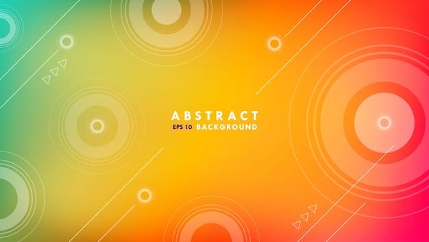 Fondo moderno de formas abstractas
