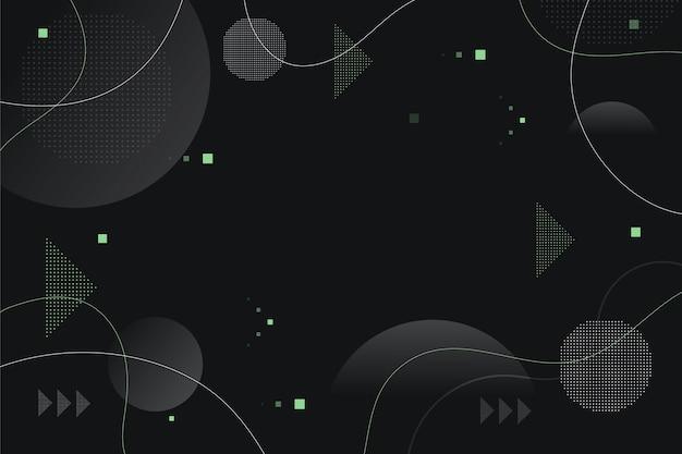Fondo moderno con formas abstractas