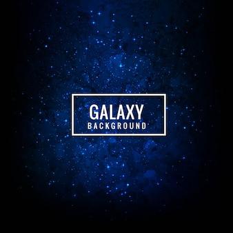 Fondo moderno de galaxia