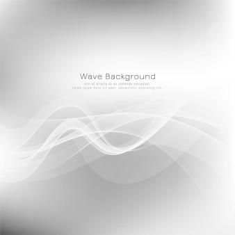 Fondo moderno gris abstracto de la onda
