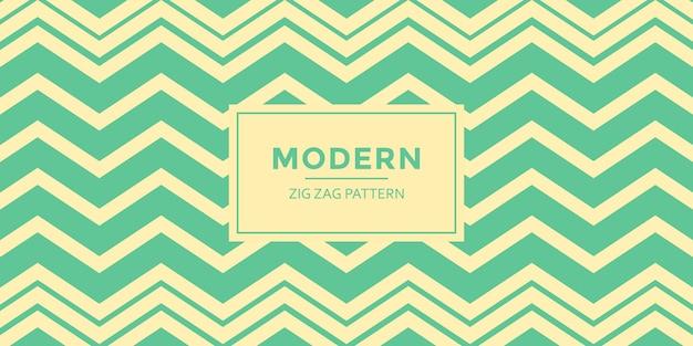 Fondo moderno del modelo de zigzag
