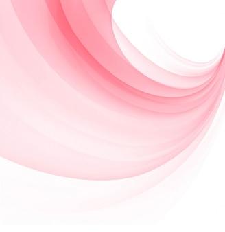 Fondo moderno de onda rosada