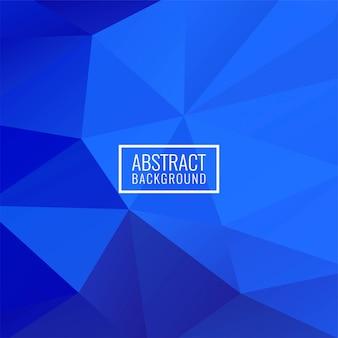 Fondo moderno del polígono geométrico abstracto