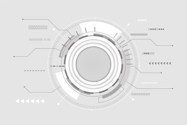 Fondo moderno de tecnología futurista
