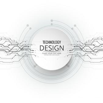 Fondo moderno de tecnología