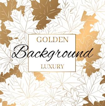 Fondo moderno de la textura del modelo del oro