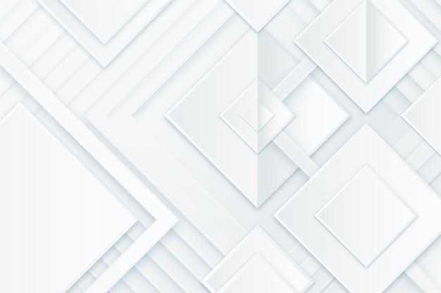 Fondo monocromático blanco de estilo de papel
