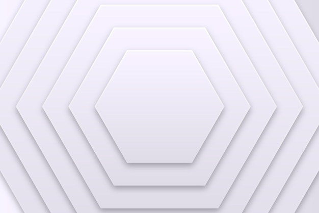 Fondo monocromático blanco geométrico