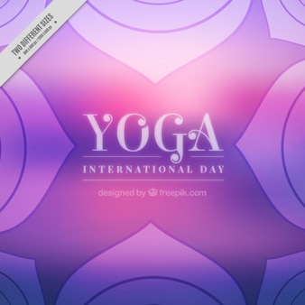 Fondo morado de yoga abstracto