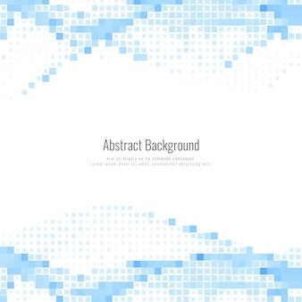 Fondo de mosaico azul moderno abstracto