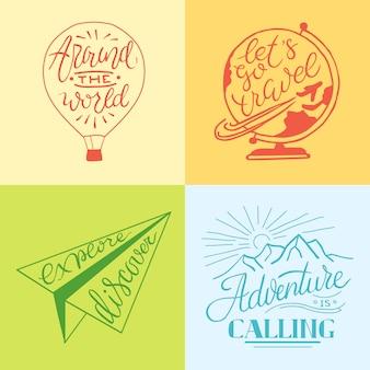 Fondo de la motivación. cotizar plantilla de cartel tipográfico