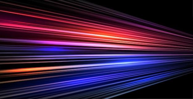 Fondo de movimiento de líneas de pista de velocidad