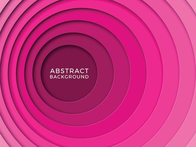 Fondo multicolor abstracto con capas de corte de papel realistas
