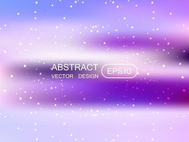 Fondo multicolor borroso abstracto con estrellas