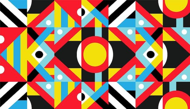 Fondo mural geométrico