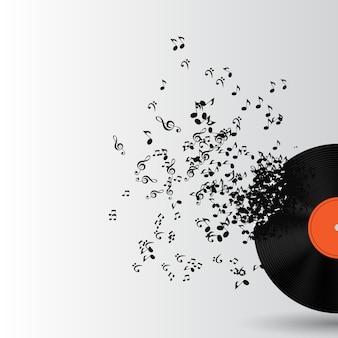 Fondo de música abstracta