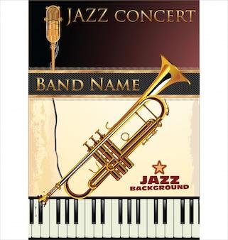 Fondo de música de jazz