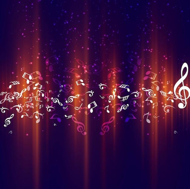 Fondo de música moderna
